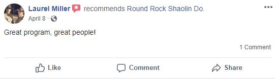 Kung Chi1, Round Rock Shaolin Kung Fu