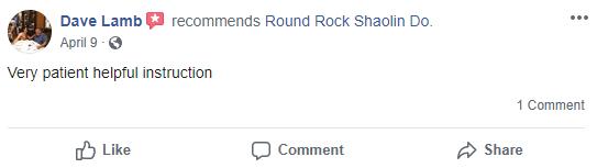 Kung Chi3, Round Rock Shaolin Kung Fu