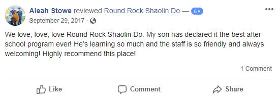Prekids1, Round Rock Shaolin Kung Fu