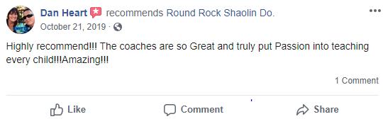 Prekids3, Round Rock Shaolin Kung Fu